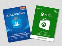 Ps4 and Xbox digital codes