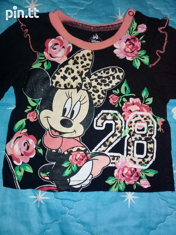 BABY HATS AND DINSEY MINNIE SUIT PANTS AND TOP-7