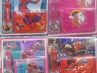 KIDS WATCH AND WALLET SET