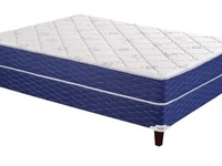 Tempur-Pedic bed with base