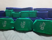 Self watering grow bags and raised bed planters, healthy roots.