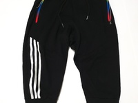 Black Striped 3/4 Joggers