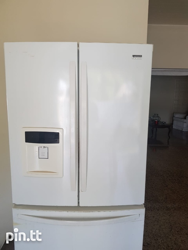 Used Kenmore Elite Fridge-1
