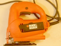 Black and Decker Jig Saw, with blades