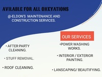 ELDON'S MAINTENANCE AND CONSTRUCTION SERVICES