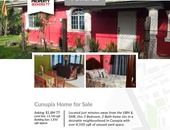 Cunupia 3 bedroom house on 13,766 sqft