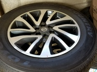 Frontier rims and tires
