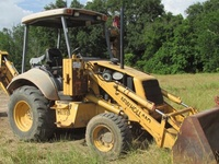 Holland 555E Backhoe