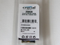 New Crucial 250GB M2 solid state drive ssd