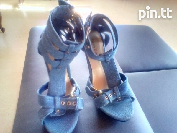 Women's Sophisticated Denim Shoes-1