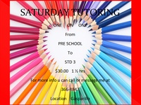 Saturday One-On-One Tutoring