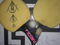 Old Table Tennis Rackets
