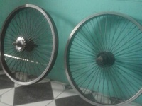 Rims and frame