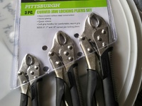 Locking Pliers set