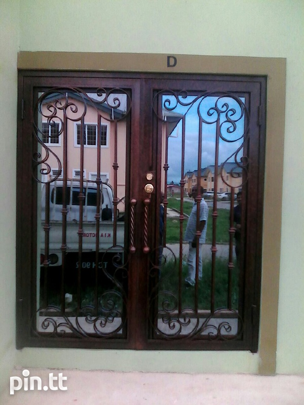 Wrought iron and custom design-2