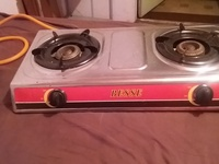 Big twin stove burner