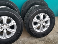 Rims and off road tyres