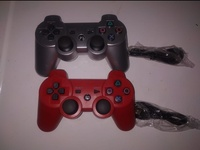 2 PS3 COMPATIBLE BLUETOOTH CONTROLLERS With USB Cables