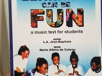 Learning can be fun, Music textbook