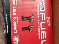 Milwaukee M12 FUEL 2-Tool Combo Hammer Drill and Impact Driver Kit