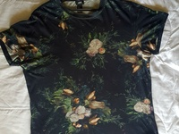 Floral print jersey