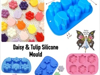 Daisy and Tulip Silicone Mould