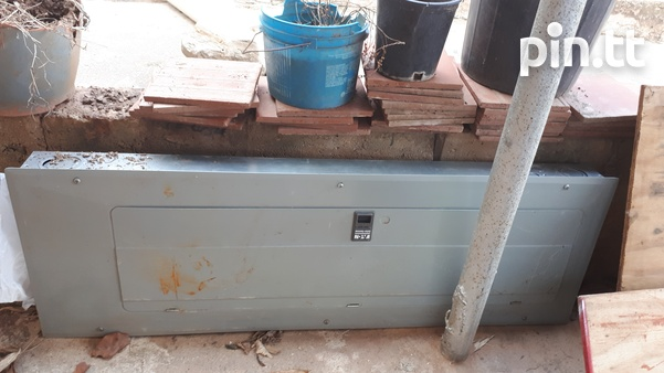 2 electrical panel boxes 1 new 1 used-3