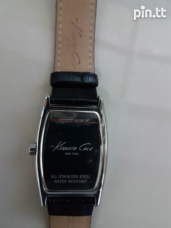 Genuine leather Kenneth Cole watch-4