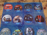 Used PS4 games and controller bundle