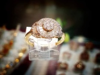 beautiful yellow and white gold engagement rings