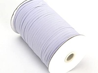 3/8 White Elastic Rolls Perfect For Making Masks