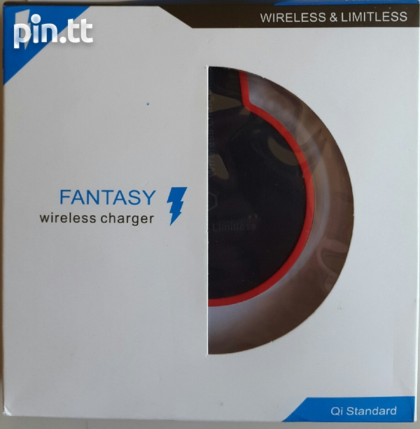 Fast Wireless Charger for Samsung phone, Qi Standard up to 1.5A-1