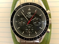 Alpha mechanical Chronograph
