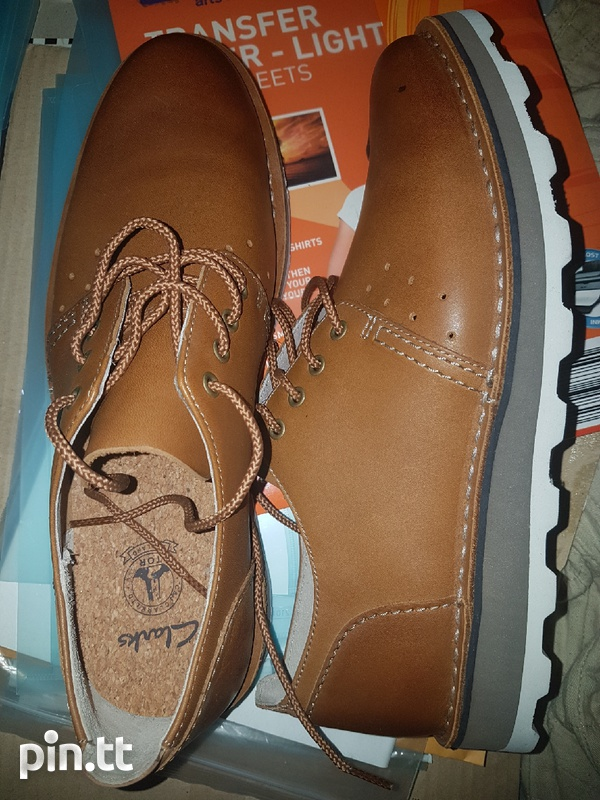 New Mens Clarks shoes.