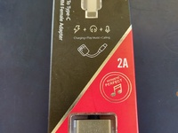 Type C Audio Adapter Silver Last 1 Available