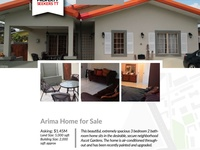 3 Bedroom House Ascot Gardens, Arima