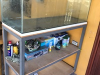 Fish tank an stand
