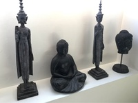 Four Buddha Inspired Figures
