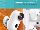 Outdoor Wireless Solar Surveillance Camera