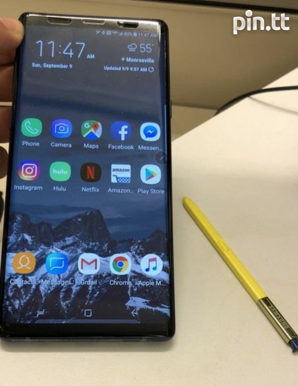 Used Note 9 512gb Mint Condition Zero scratches