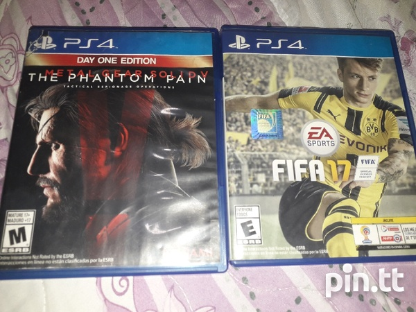 2 PS4 Games Like New No Scratches-2