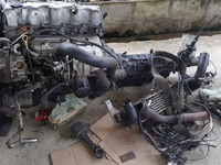 Ford WL Engine and gear box.