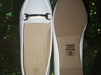White Loafers for ladies