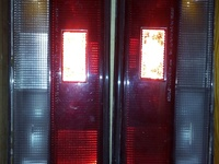 MAZDA 323 LX TAIL LIGHTS