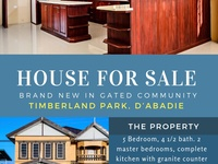 Brand New House with 5 bedrooms in Gated Community