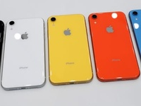 Apple iPhone XR 128GB and 256GB