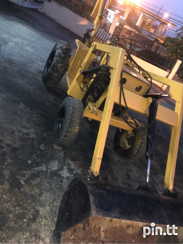 Mini Backhoe-1