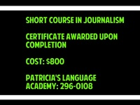 JOURNALISM SHORT COURSE