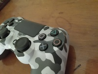 PS4 Wireless Controller with Grey Camo