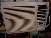 110 volts 7800 btu used ac window unit with remote